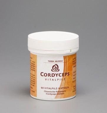 Cordyceps Vitalpilz 60 Kapseln