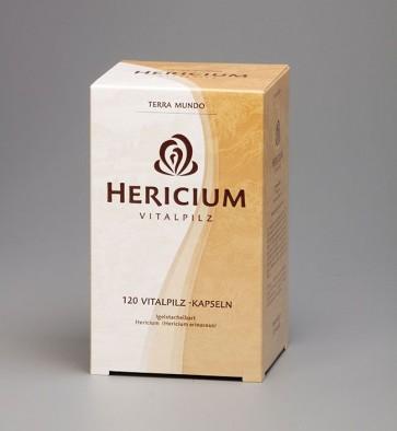 Hericium BIO Vitalpilz 120 Kapseln