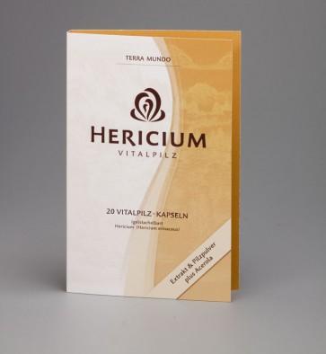 Hericium BIO Vitalpilz 20 Kapseln