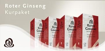 Roter Ginseng 480 Kapseln Kurpaket